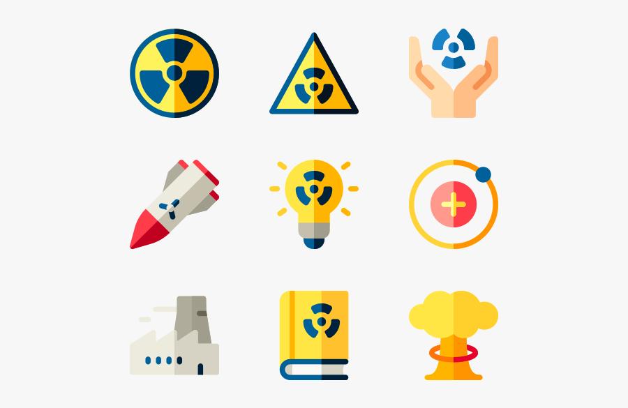 Nuclear Energy - Nuclear Icons, Transparent Clipart