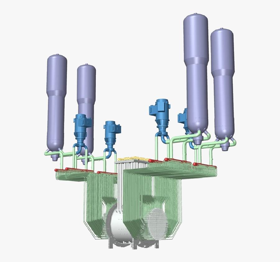 Candu Primary Heat Transport System, Transparent Clipart