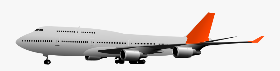 Plane Clipart Shipping - Clear Background Airplane Transparent Background, Transparent Clipart