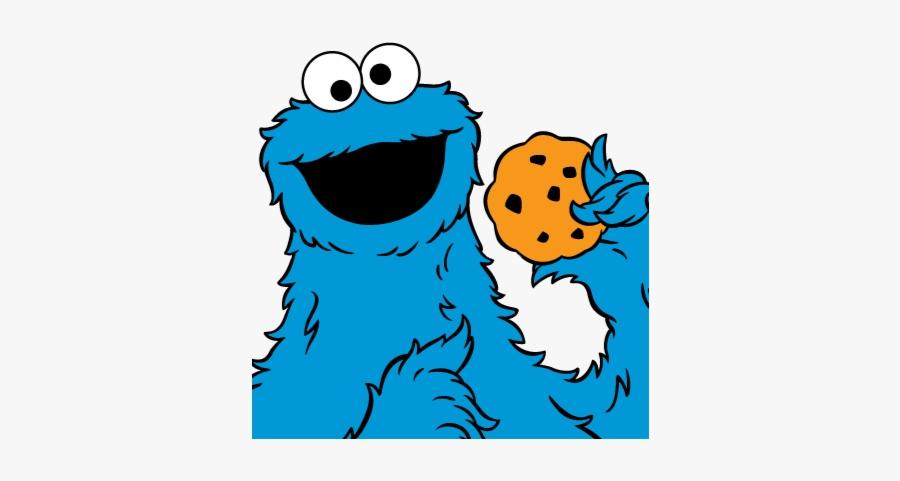 Cookie Monster Free Transparent Png - Sesame Street Cookie Monster Cartoon, Transparent Clipart