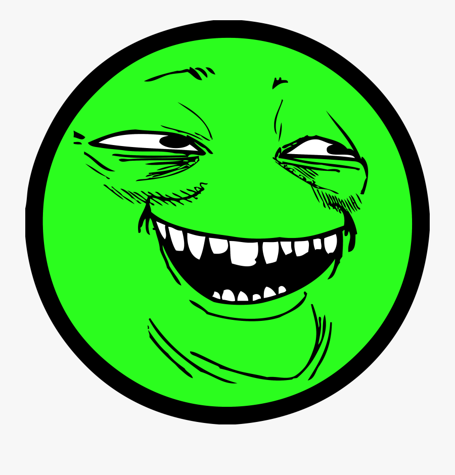Io Internet Troll Slither - Yoba Face Png, Transparent Clipart