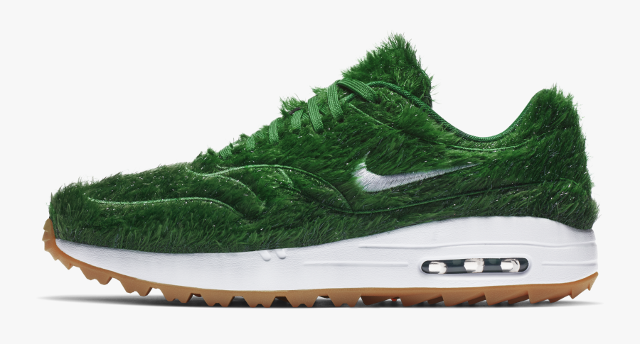 Shoe,walking Shoe,sportswear,athletic Shoe,cross Training - Nike Air Max 1 Grass, Transparent Clipart