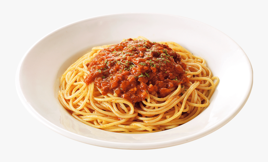 Pasta Transparent Pizza - Spaghetti With Sauce Png, Transparent Clipart