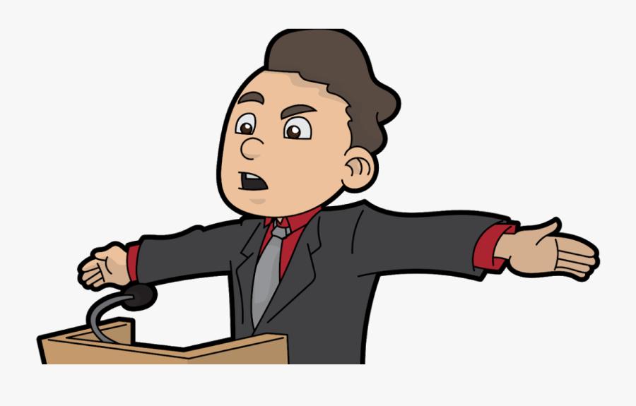 Transparent Scared Public Speaking Clipart - Public Speaking Speech Clipart, Transparent Clipart