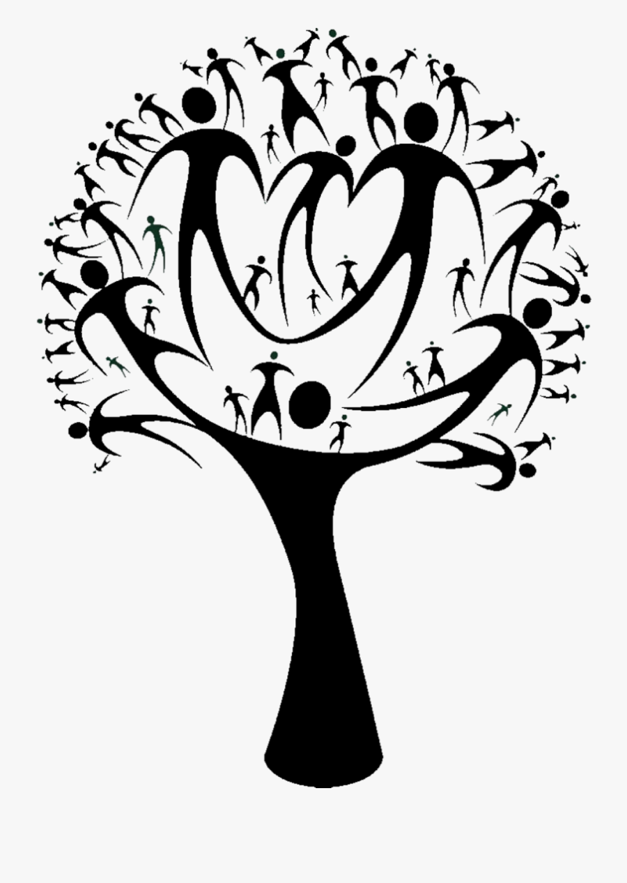 Drawing Family Beautiful - Family Tree Design Tshirt, Transparent Clipart