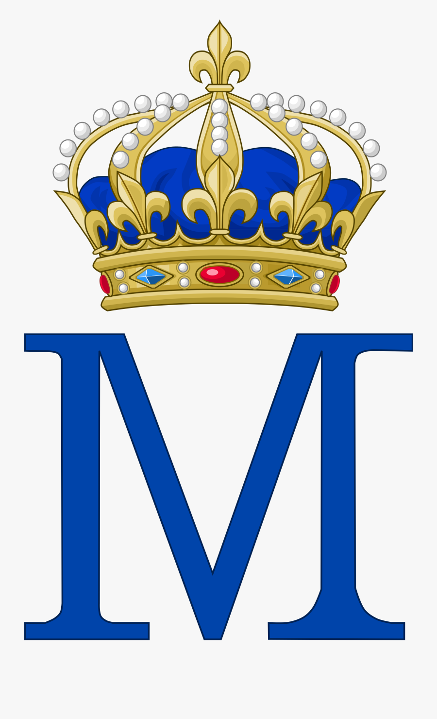 Mary Of Scots As - Royal Prince Crown Clipart, Transparent Clipart