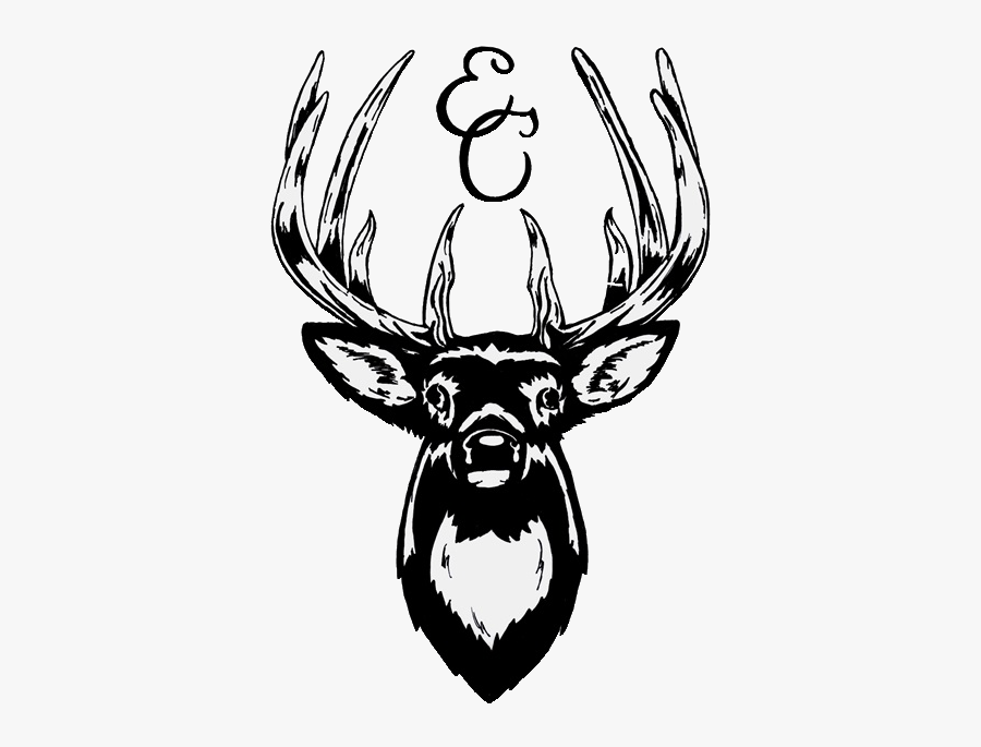 Deer Head Stickers, Transparent Clipart