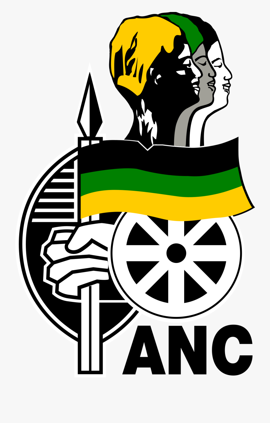 Logo African National Congress, Transparent Clipart
