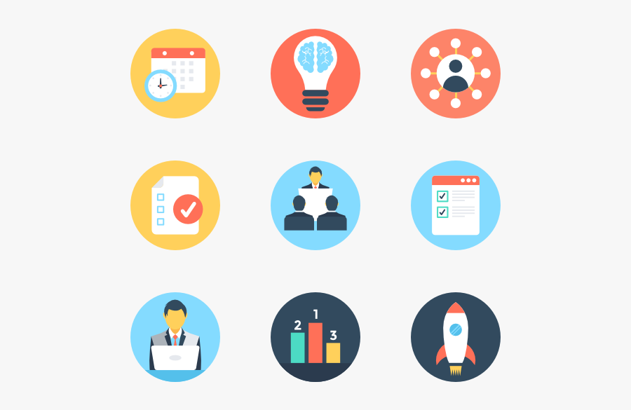 Clip Art Project Management Icons - Project Icon Png Vector, Transparent Clipart