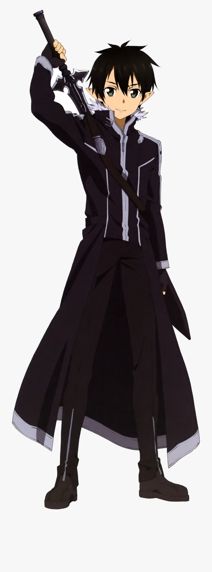 Sword Art Online Collection Of Clipart Free Best On - Kirito Sword Art Online Characters, Transparent Clipart