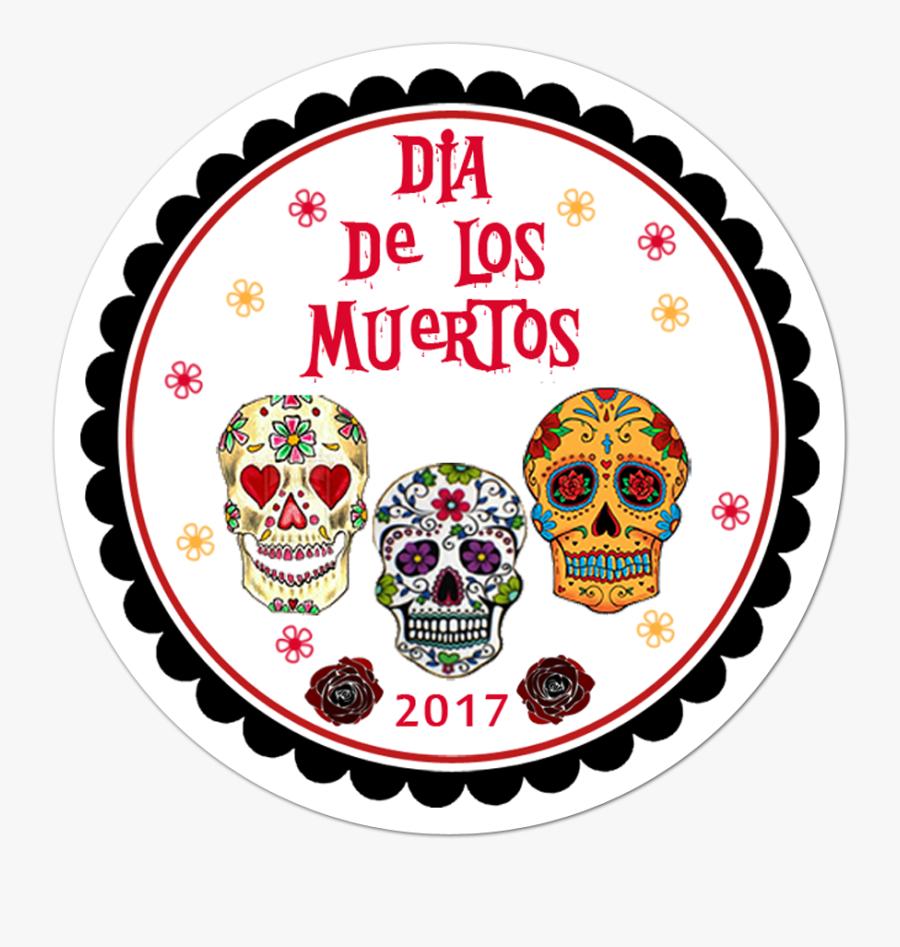 Stickers De Dia De Muertos, Transparent Clipart