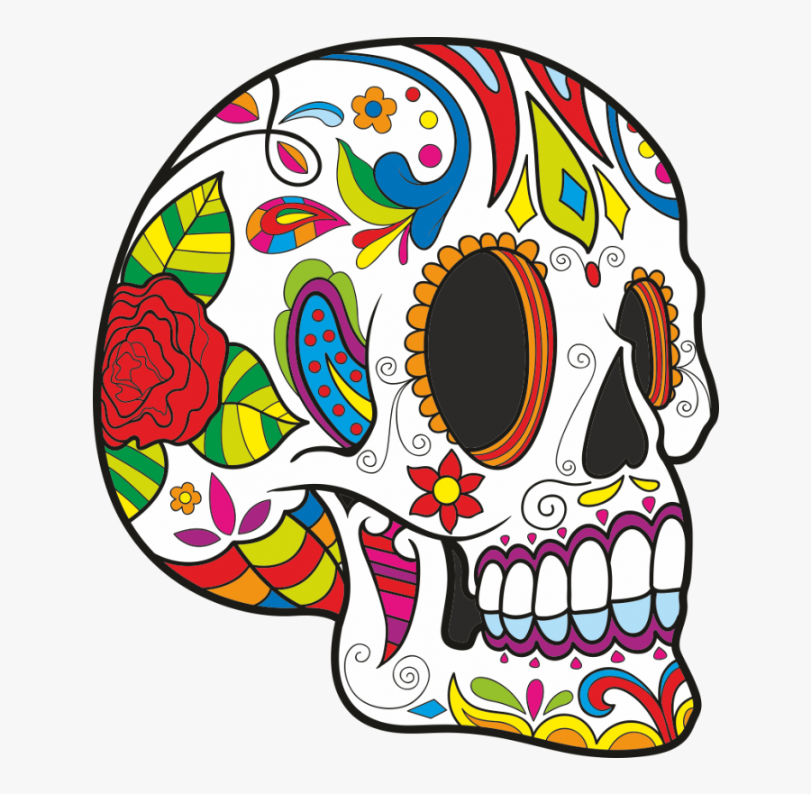 Dia De Los Muertos Skulls Png, Transparent Clipart