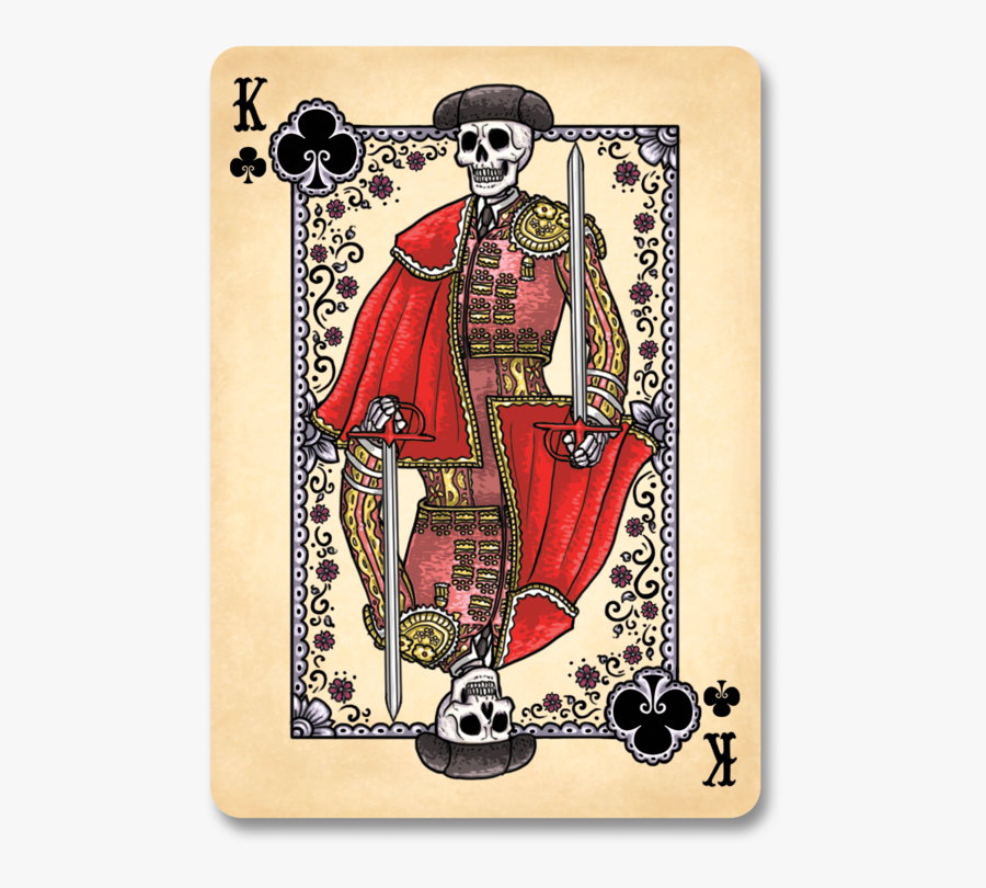King Bicycle Playing Cards, Transparent Clipart