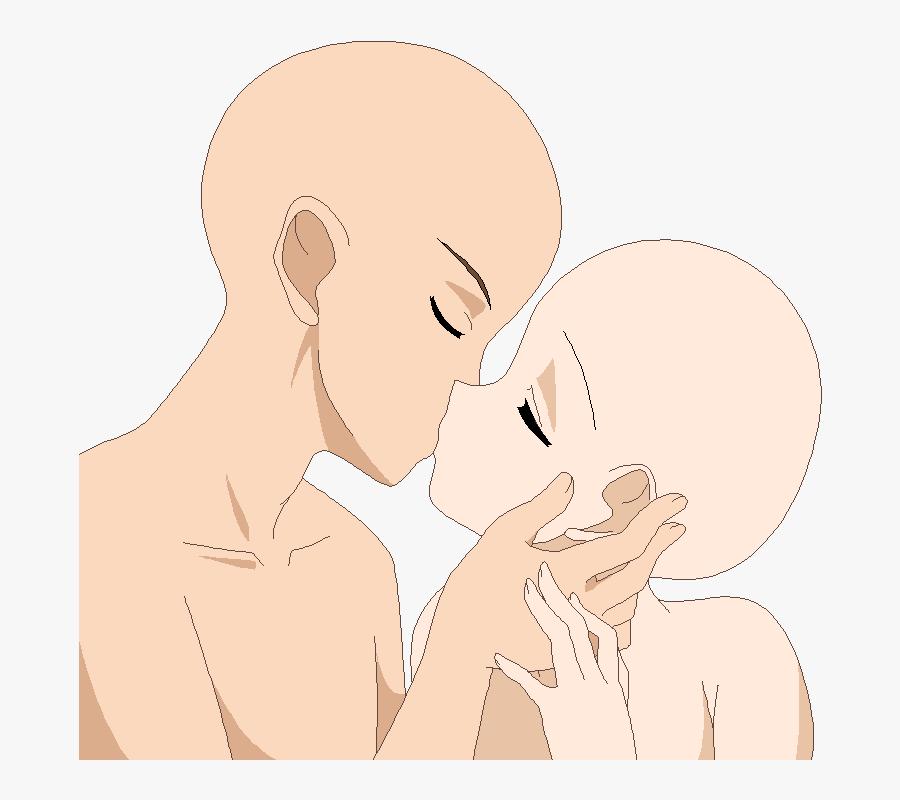 Clip Art Collection Of Free Drawing Anime Couple Base Kissing Free Transparent Clipart Clipartkey Si estas escribiendo un comic esto. drawing anime couple base kissing