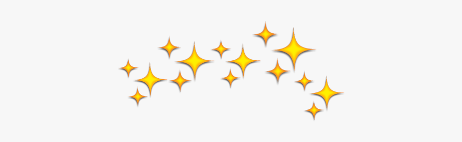 #crown #stars #starcrown #space #yellow - Yellow Star Crown Png, Transparent Clipart