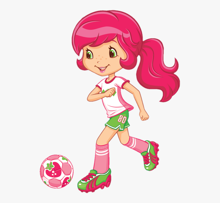 Cartoon Strawberry Shortcake Hat Free Transparent Clipart