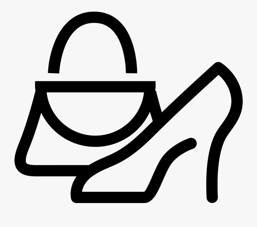 Category Supplies Boutique Shoes Bag Comments - Shoes And Bag Icon, Transparent Clipart