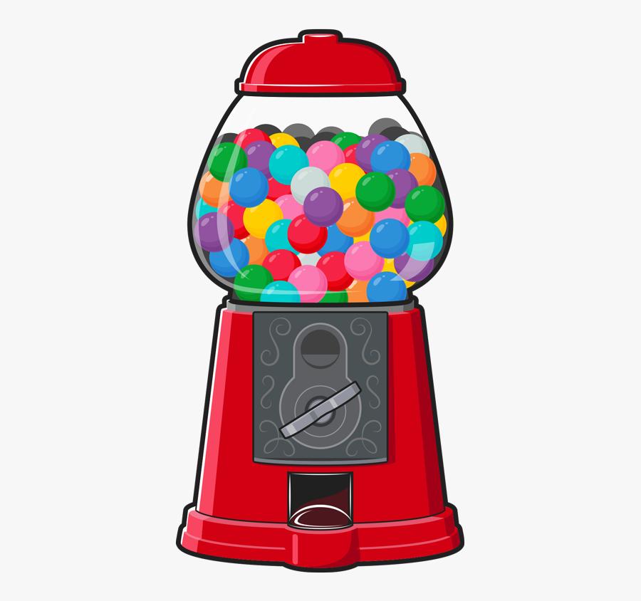 Stick To It Splash - Transparent Gumball Machine Clipart, Transparent Clipart