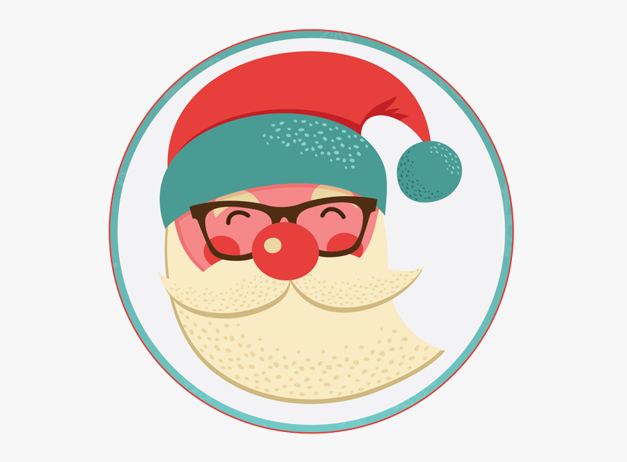 Logos De Santa Claus, Transparent Clipart