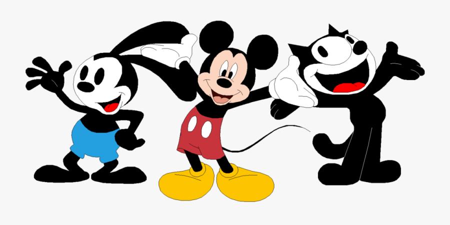 Transparent Bugs Bunny Png - Black Color Cartoon Characters, Transparent Clipart