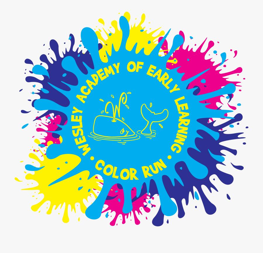 Media Item - 5k Color Run Logo, Transparent Clipart