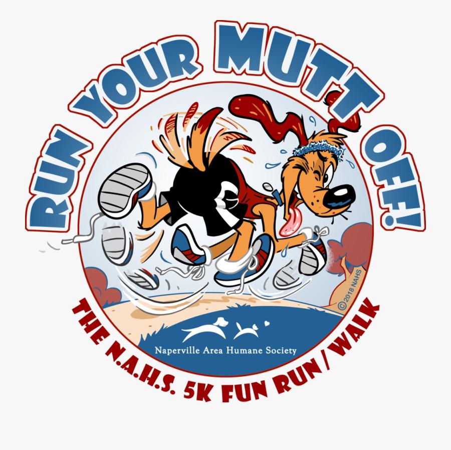 Run Your Mutt Off - Cartoon, Transparent Clipart