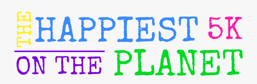 Untitled - Happiest 5k On The Planet, Transparent Clipart