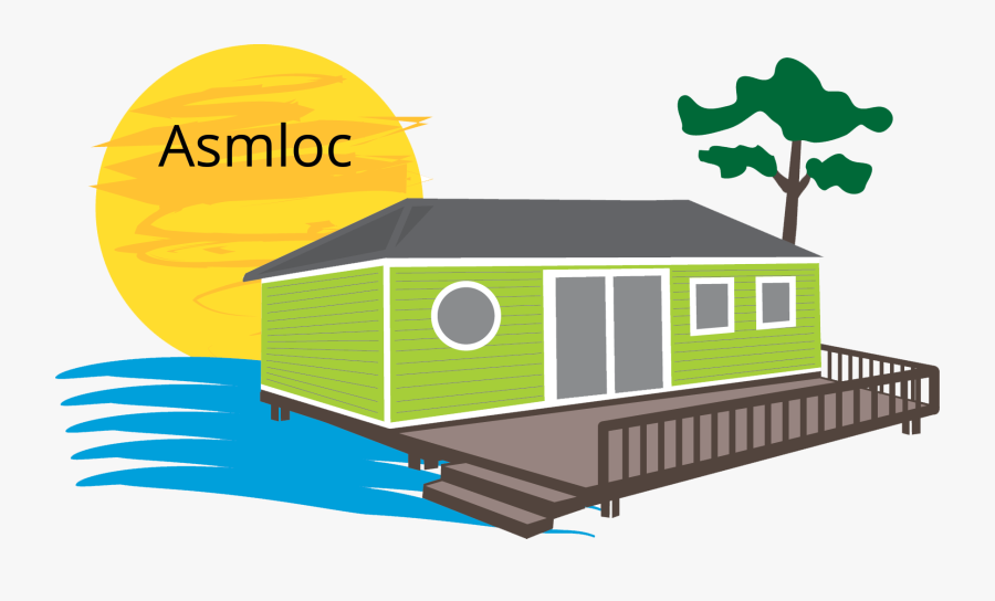 Gestion Et Location De Mobil Home - Logo Mobil Home, Transparent Clipart