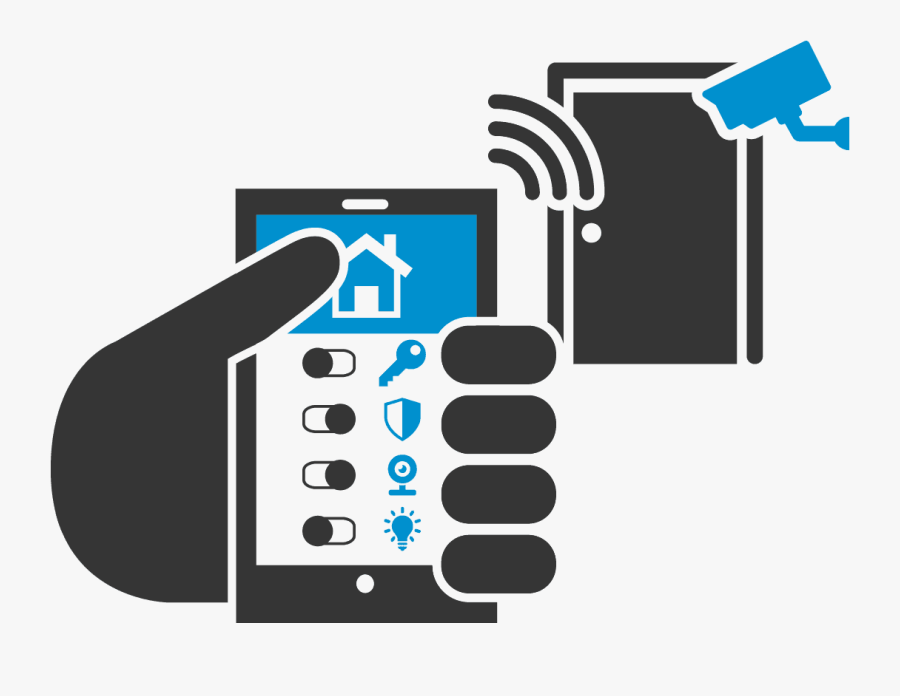 Home Automation Kits - Home Security Png, Transparent Clipart