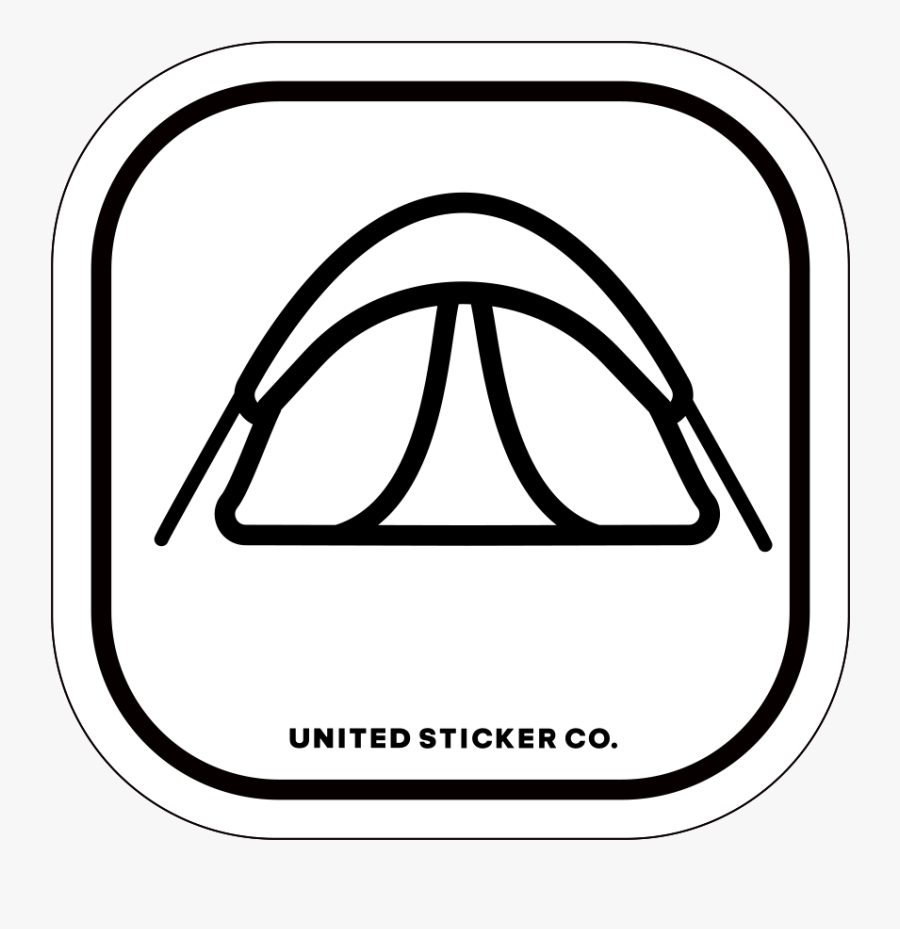 Camping Tent Icon, Transparent Clipart