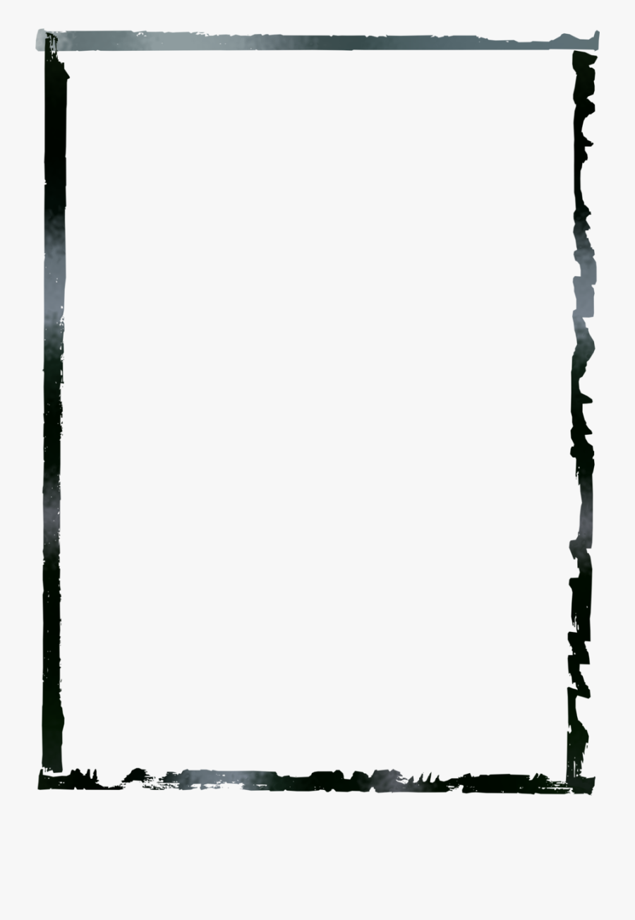 Grunge Border Clipart Borders And Frames Picture Frames, Transparent Clipart