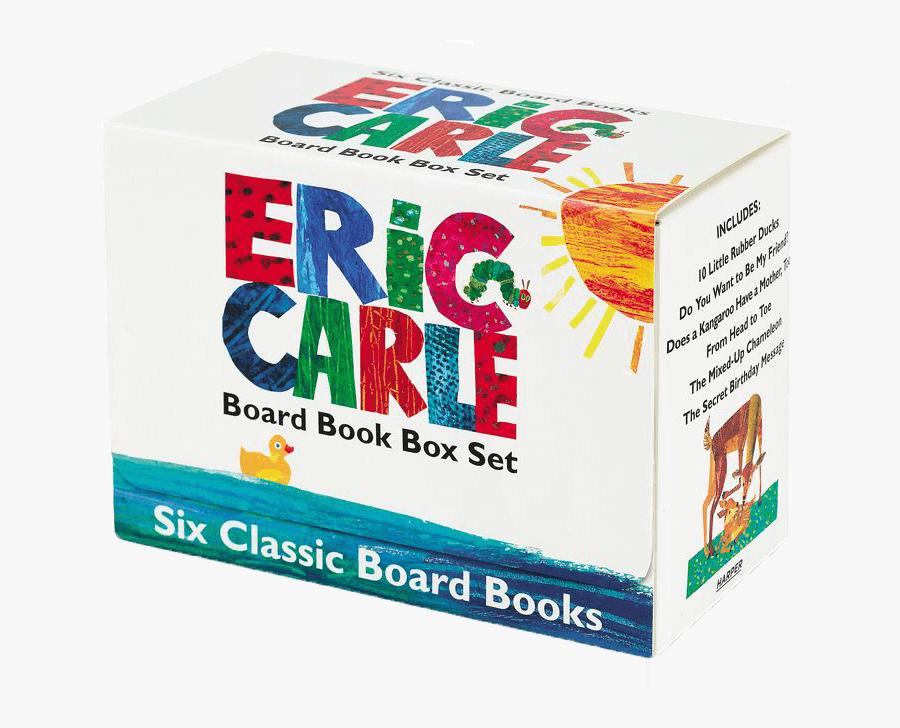 Eric Carle Board Books, Transparent Clipart