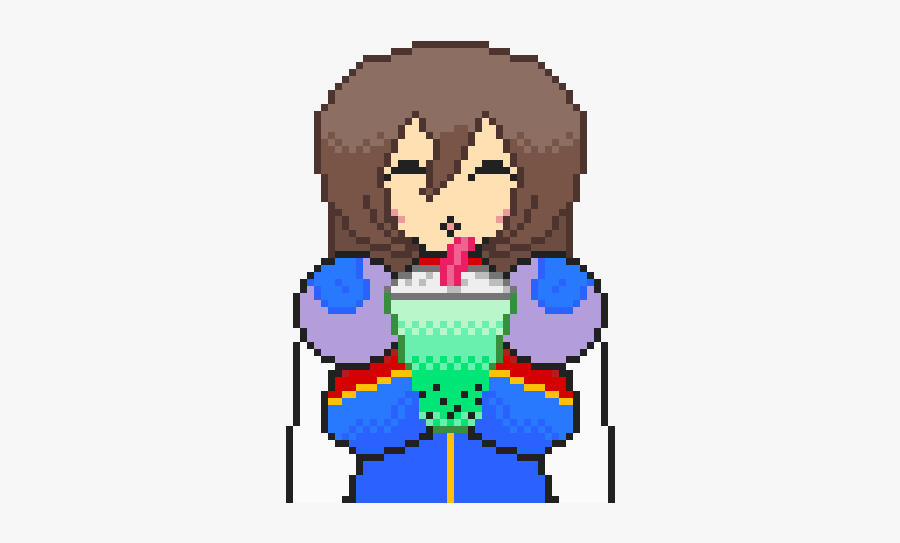 Hands Free Bubble Tea - Megaman X Bubble Tea, Transparent Clipart