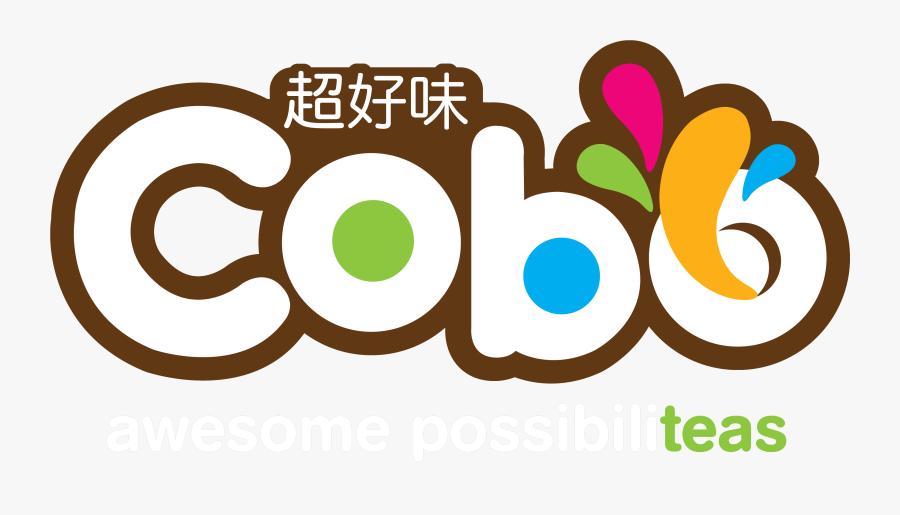 Cobo Milk Tea Logo, Transparent Clipart