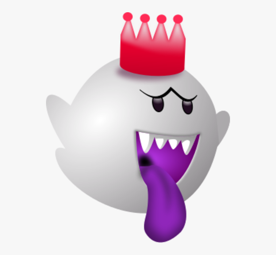 Mad Face Clip Art Free - King Boo Coloring Pages, Transparent Clipart