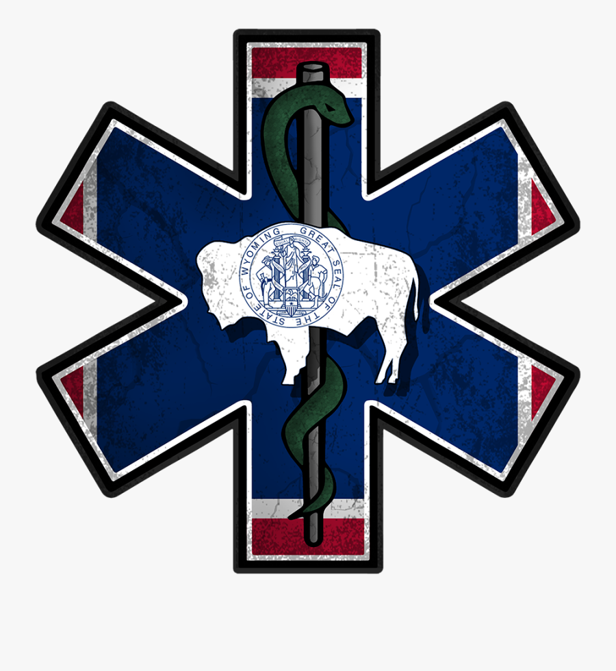 Wyoming State Flag, Transparent Clipart