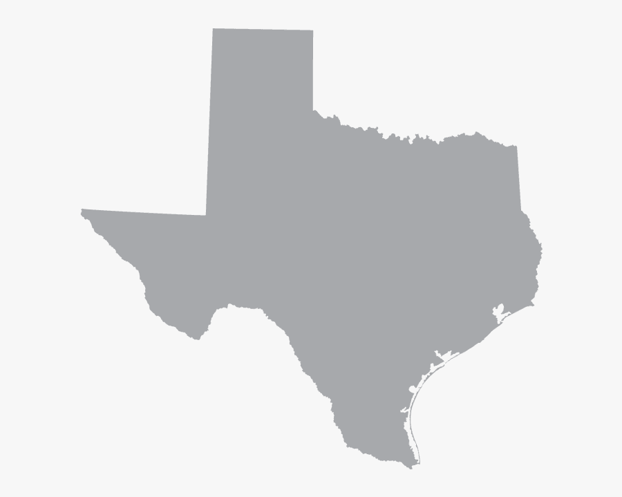 Texas - Texas Map, Transparent Clipart