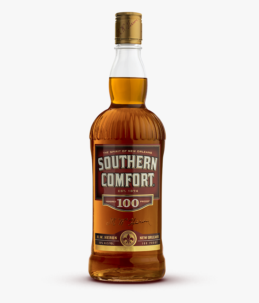 Southern Comfort 100 Proof - Southern Comfort Whiskey 80, Transparent Clipart
