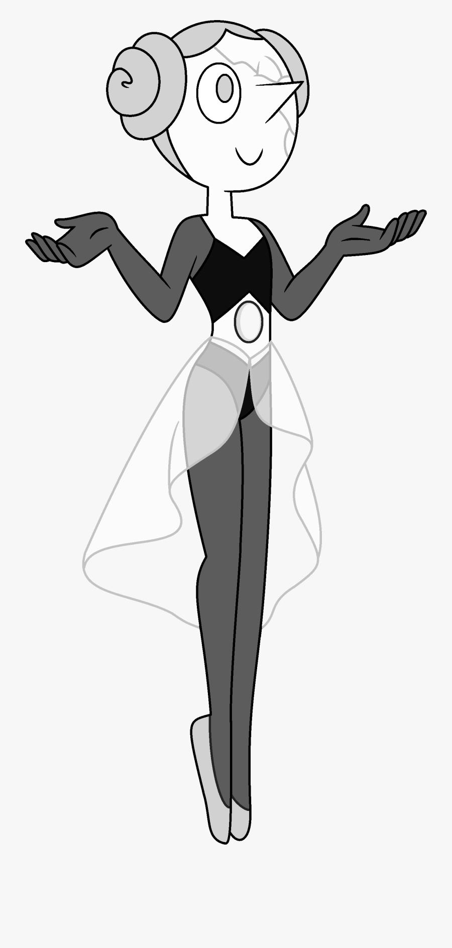 Pearl Clipart Steven Universe - Steven Universe White Pearl, Transparent Clipart