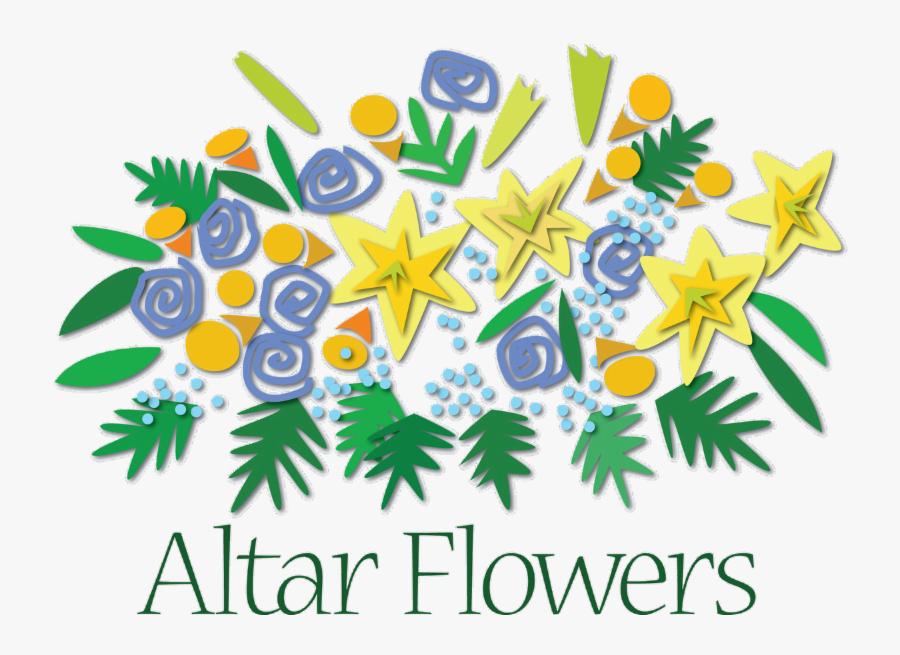 Flower Clip Art Transprent - Altar Flowers Clipart , Free ...