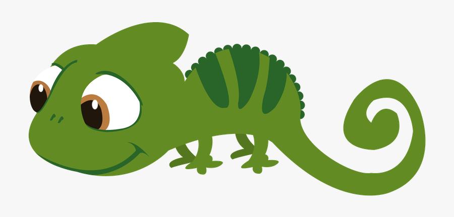 Lizard Clipart Tangled, Transparent Clipart