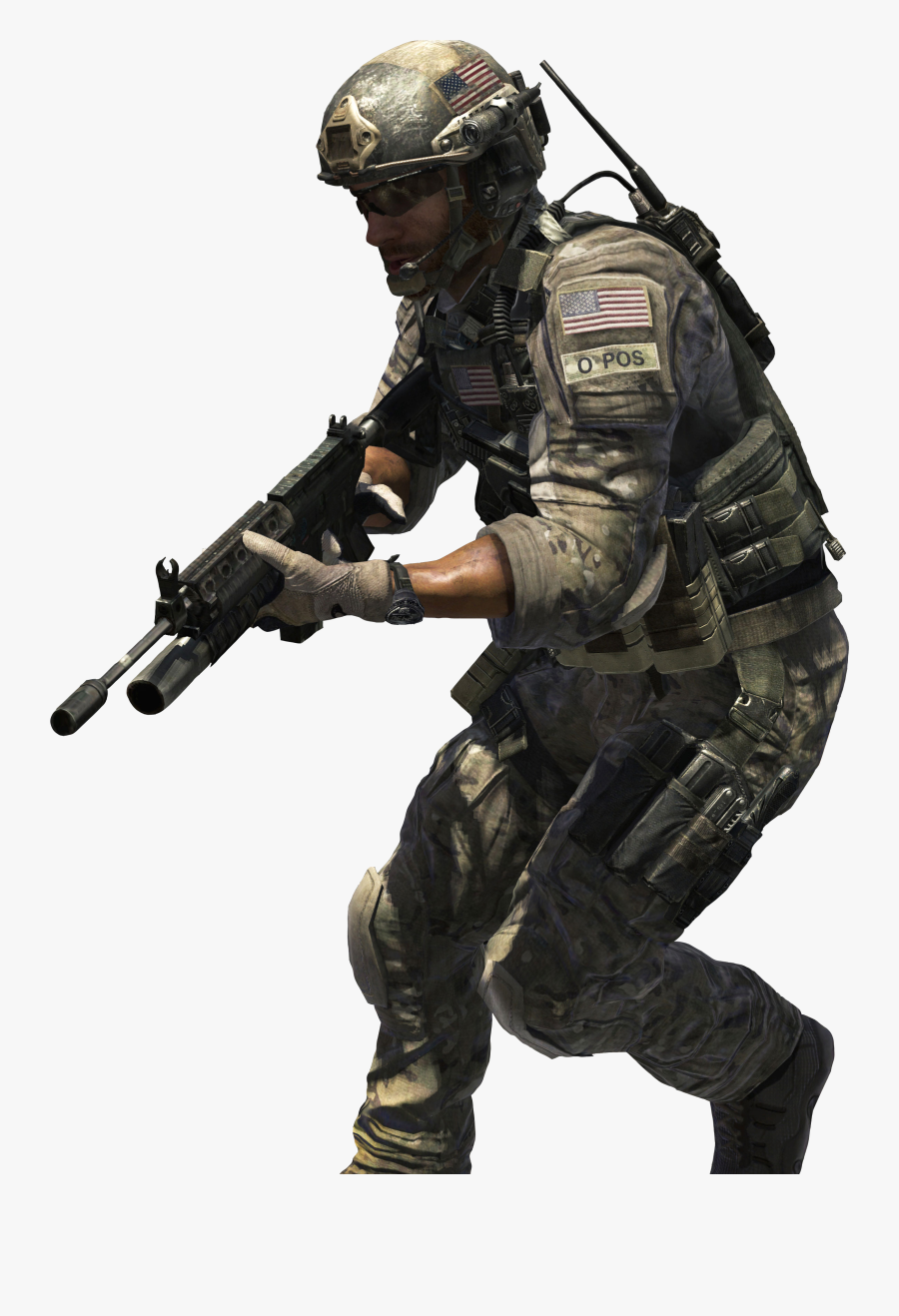 Call Of Duty Png Transparent Images - Call Of Duty Modern Warfare 3 Sandman, Transparent Clipart