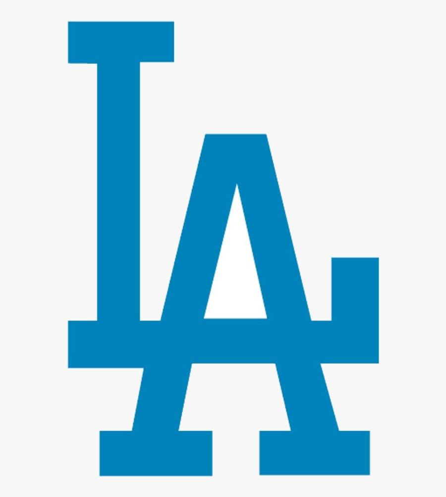 Dodgers Los Angeles Clip Art Free Image Transparent - La Dodgers Logo Svg, Transparent Clipart