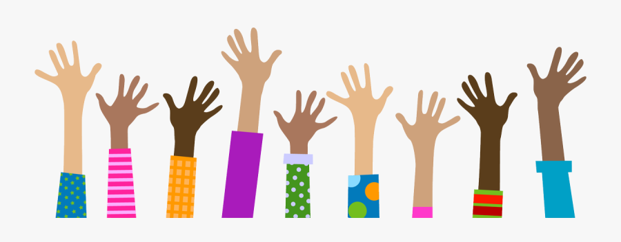 Raised Hands Png - Raised Hands No Background, Transparent Clipart