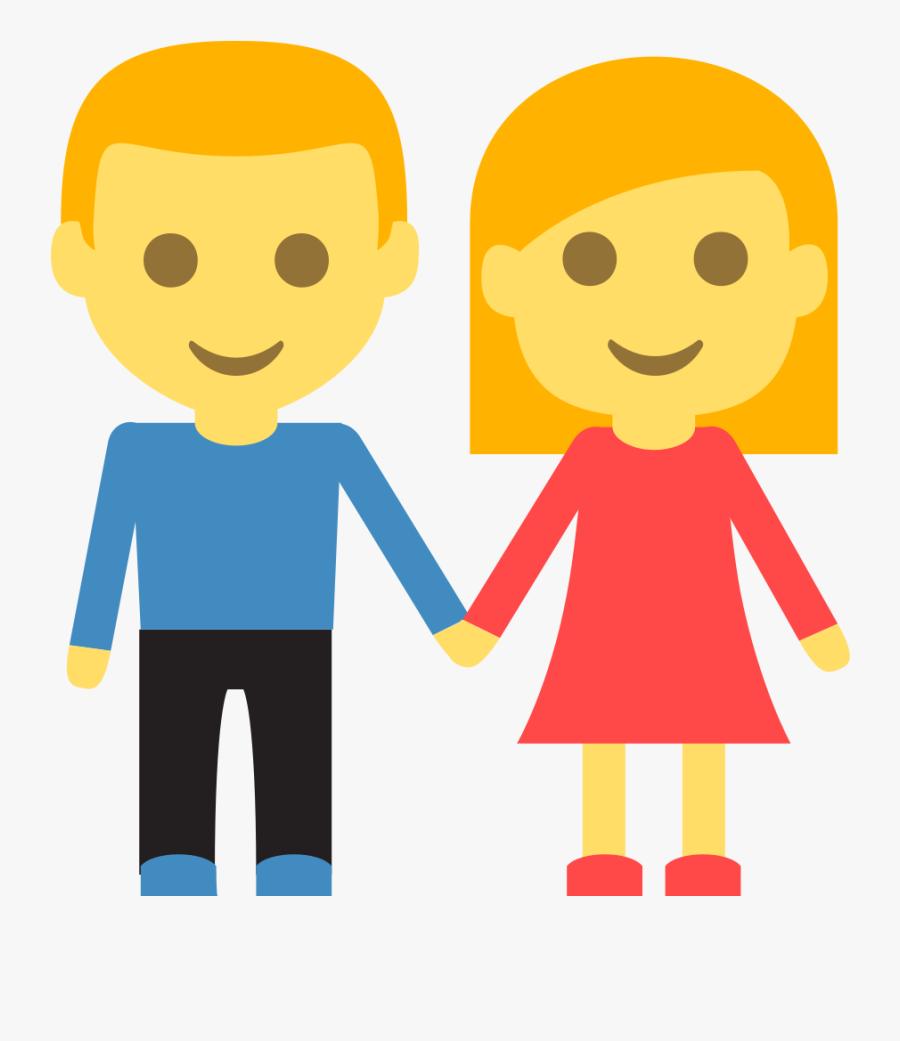 Transparent Nonfiction Clipart - Men And Women Emoji, Transparent Clipart