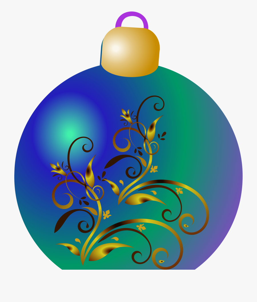 All Photo Png Clipart - Blue Christmas Ornament Clipart, Transparent Clipart
