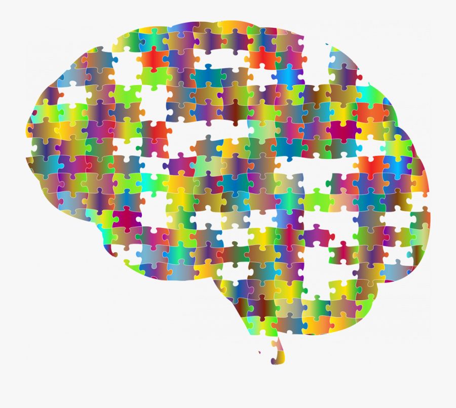 Brain Puzzle, Transparent Clipart