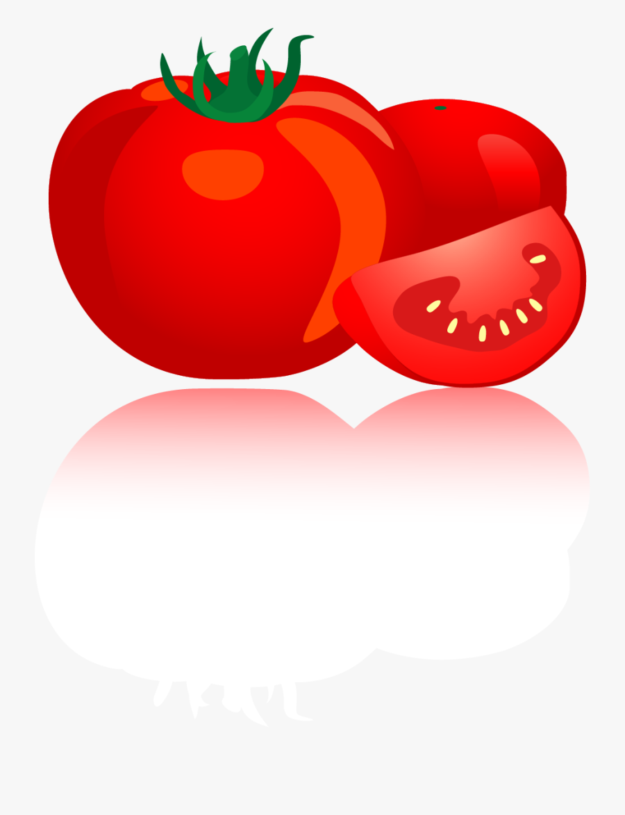 Plum Tomato, Transparent Clipart