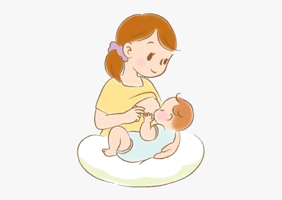 Pregnancy Clipart Breast Milk Mother Breastfeeding Baby Animated Free Transparent Clipart Clipartkey