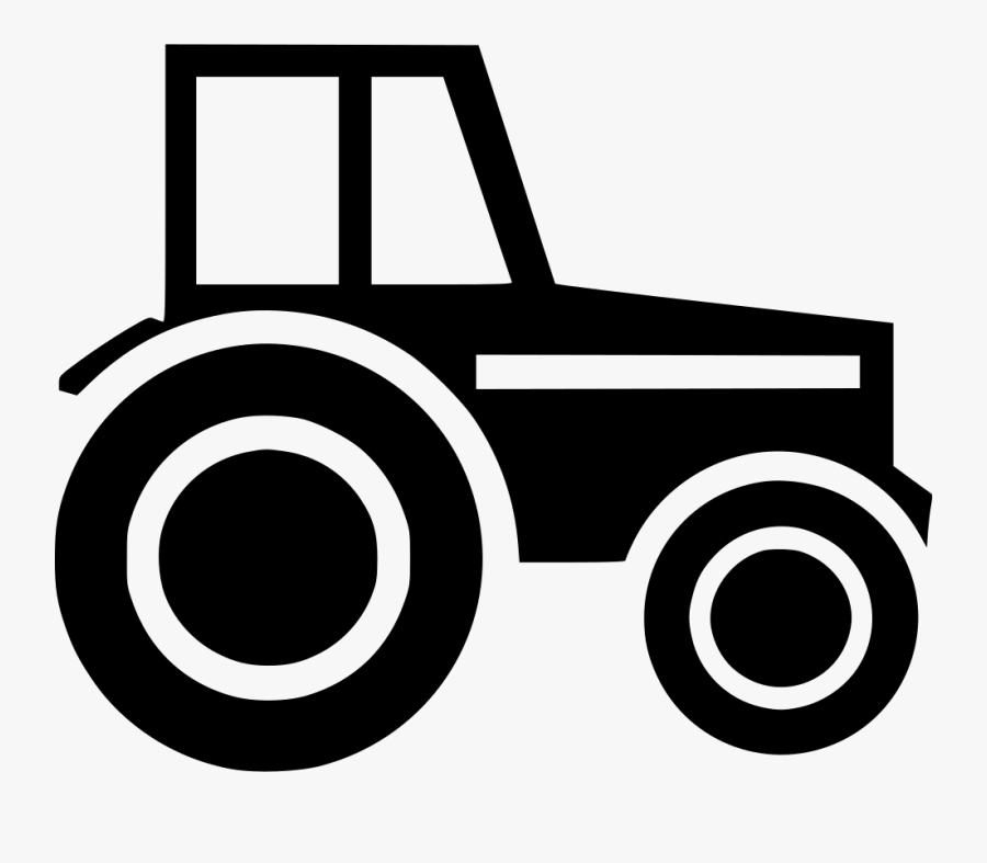 Wheeled Tractor - Agricultural Machinery, Transparent Clipart